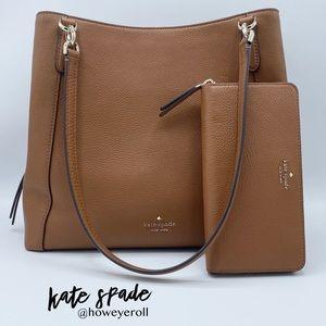 ♠️ Kate Spade Jackson Shoulder Bag & Wallet Set